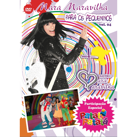 DVD-Mara-Maravilha-Para-os-Pequeninos-Volume-4