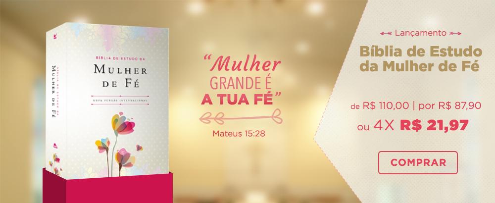 Biblia de Estudo da Mulher