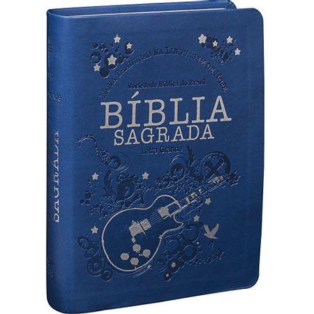 Biblia-Sagrada-pequena-com-Letra-Grande-Ntlh-Azul-Guitarra