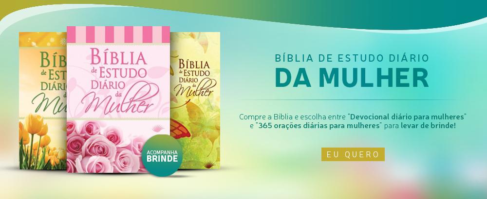BIBLIA DIARIO DA MULHER