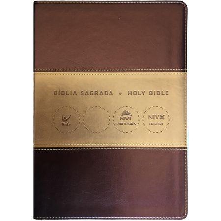 biblia-bilingue-nvi-champagne-e-ouro