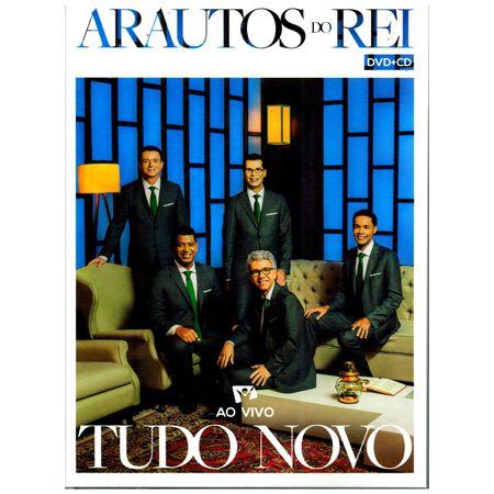 CD-DVD-Arautos-do-Reis-Tudo-Novo