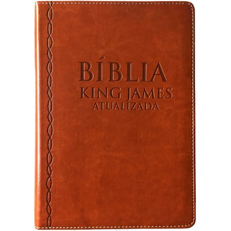 biblia-king-james-marrom