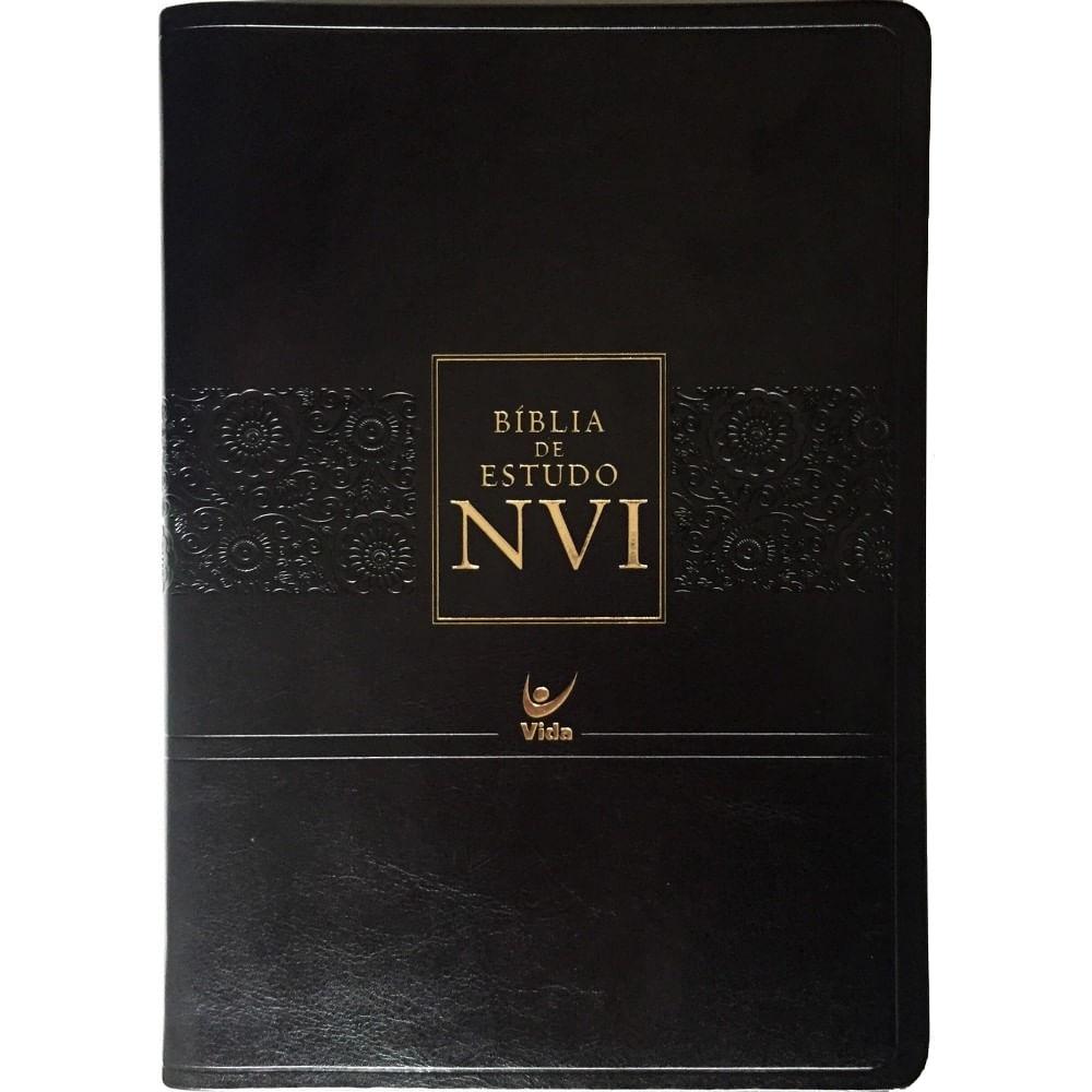 Matrimonio Biblia Nvi : Bíblia de estudo nvi capa luxo livraria cristão