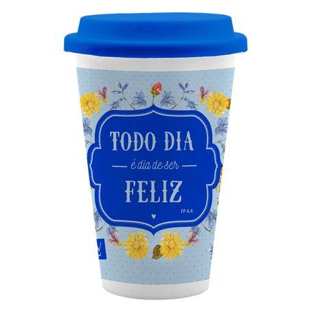 Copo-Ceramica-com-Tampa-Colecao-Inspiracao-Todo-Dia-e-Dia-de-Ser-Feliz