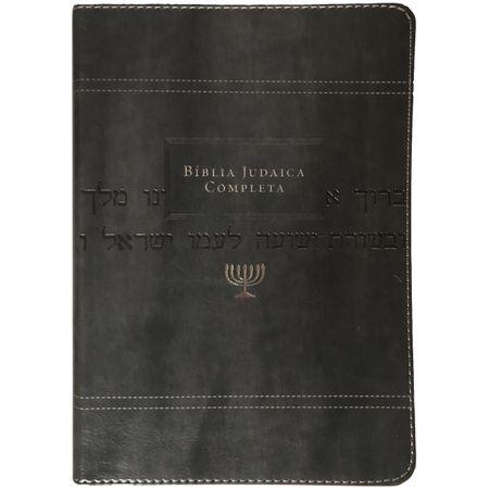 biblia-Judaica-Completa-Luxo-Cinza-Capa