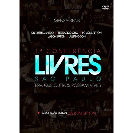 DVD-Livres-Para-Adorar-1ª-Conferencia-Em-Sao-Paulo-Ao-Vivo