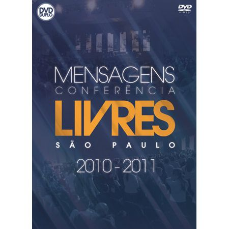 DVD-Livres-Mensagens-Conferencia-Sao-Paulo-Ao-Vivo