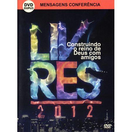 DVD-Livres-Para-Adorar-Mensagens-Conferencia-Construindo-o-Reino-de-Deus-com-Amigos-Ao-Vivo-Duplo