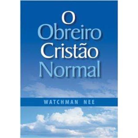 O-Obreiro-Cristao-Normal