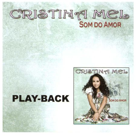 Playback-Cristina-Mel-Som-do-amor
