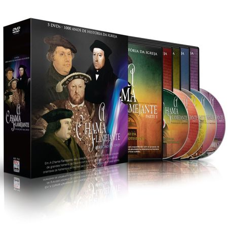 Kit-DVD-A-Chama-Flamejante-1000-Anos-de-Historia-da-Igreja