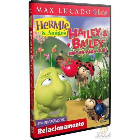 DVD-Hermie-e-Amigos-Hailey-e-Bailey-Brigar-Pra-Que