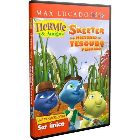 DVD-Hermie-e-Amigos-Skeeter-e-o-Misterio-do-Tesouro-Perdido