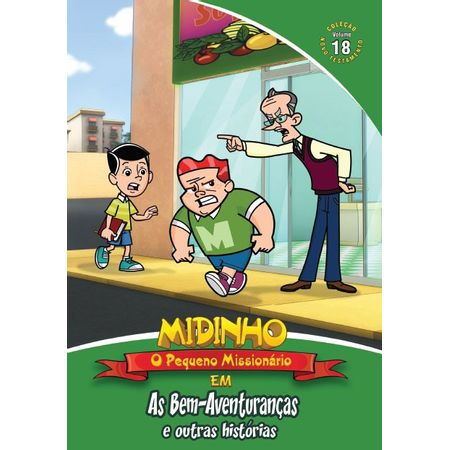 DVD-Midinho-O-Pequeno-Missionario-NT-Volume-18