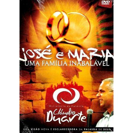DVD-Claudio-Duarte-Jose-e-Maria-uma-Familia-Inabalavel
