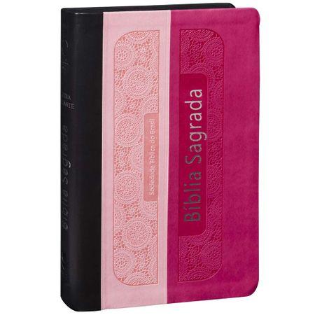 Biblia-Sagrada-RA-Letra-Gigante-Rosa-Pink-e-Preta