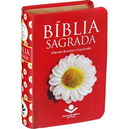 Biblia-Sagrada-Edicao-de-Bolso-Vermelha-Margarida