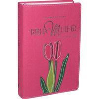 Biblia-da-Mulher-com-Bordas-Floridas-RA-Capa-detalhada-Rosa