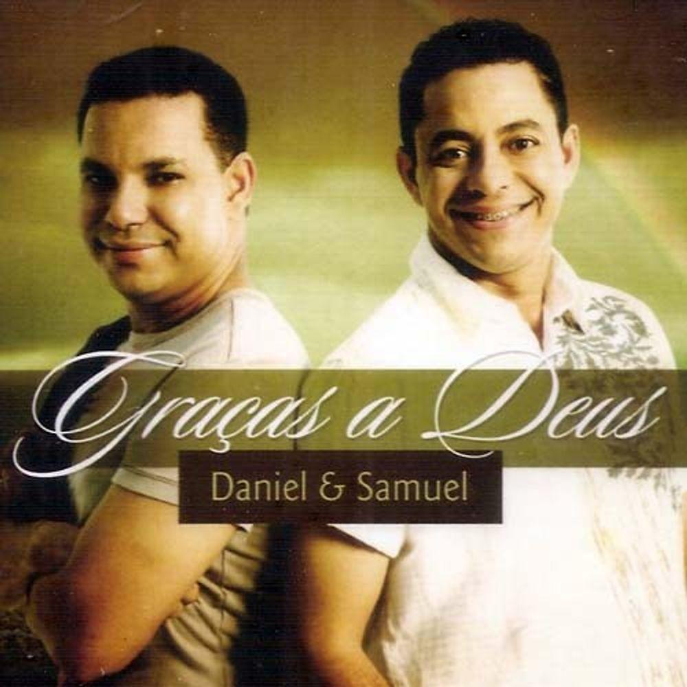 Cd Daniel E Samuel Gracas A Deus Incluso Playback Livraria 100