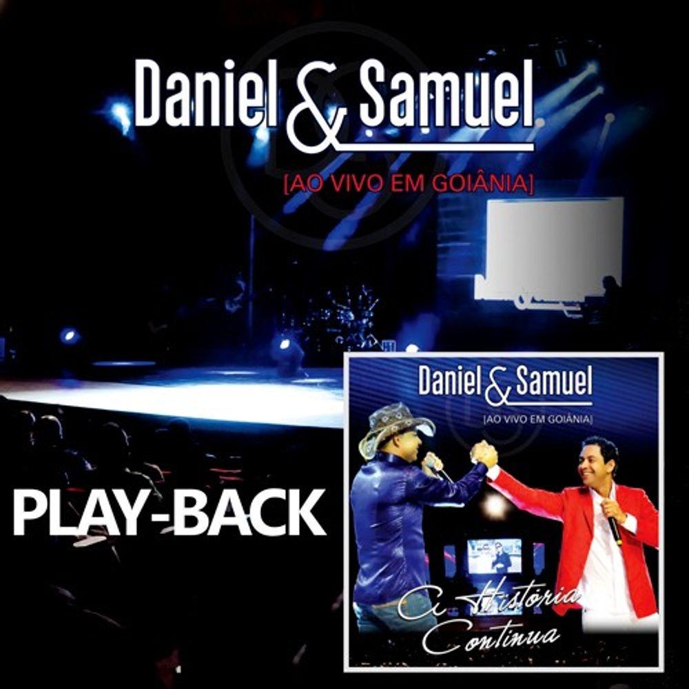 Cd Daniel E Samuel A Historia Continua Play Back Livraria 100