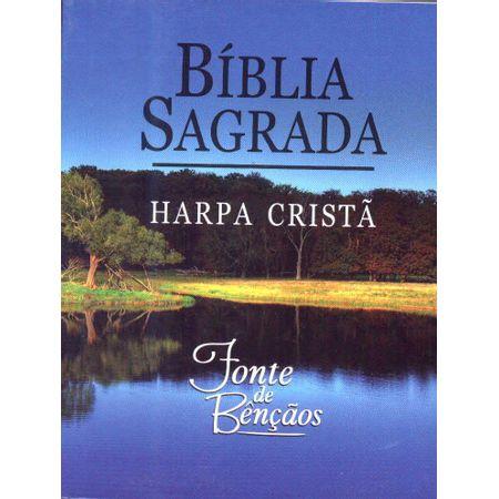 Biblia-Sagrada-Fonte-de-Bencaos-com-Harpa-Crista