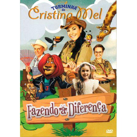 DVD-Turminha-da-Cristina-Mel-Fazendo-a-Diferenca-