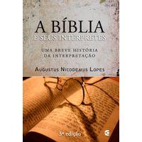 A-Biblia-e-seus-Interpretes