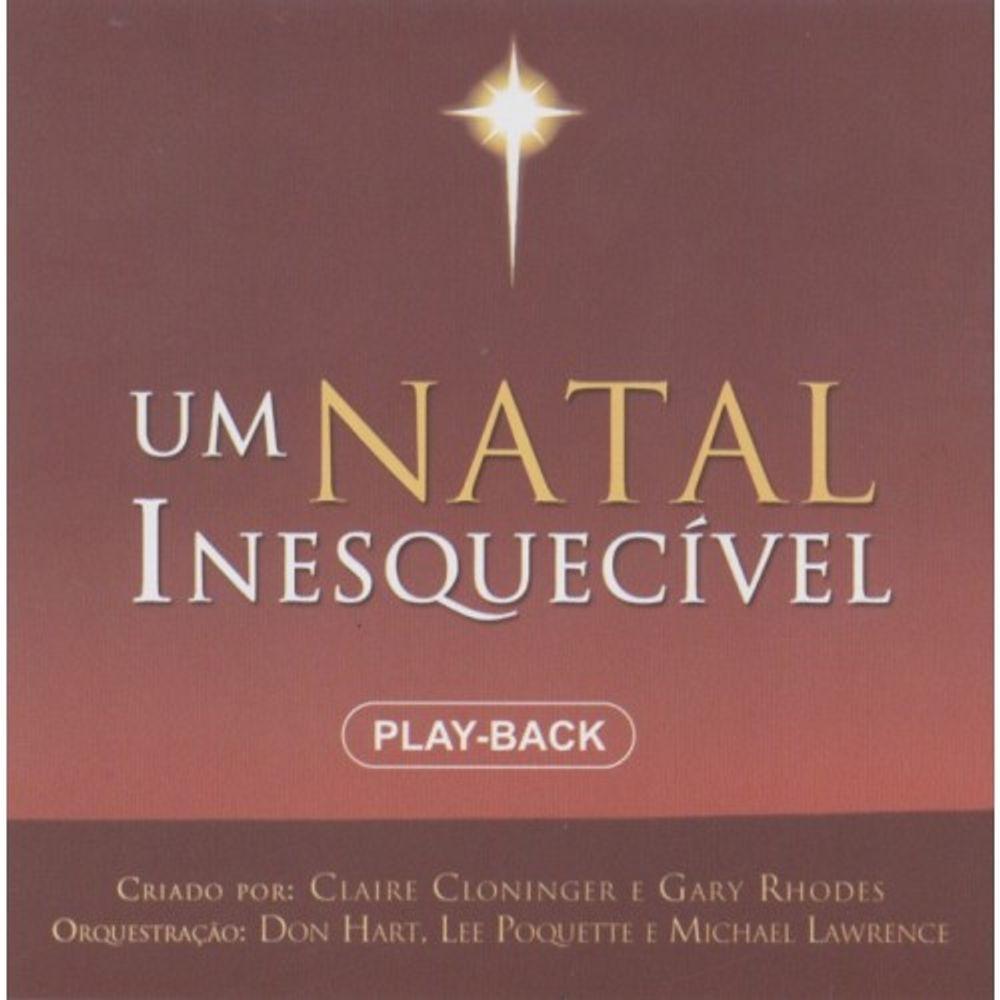 NATAL UM INESQUECIVEL CD PLAYBACK BAIXAR