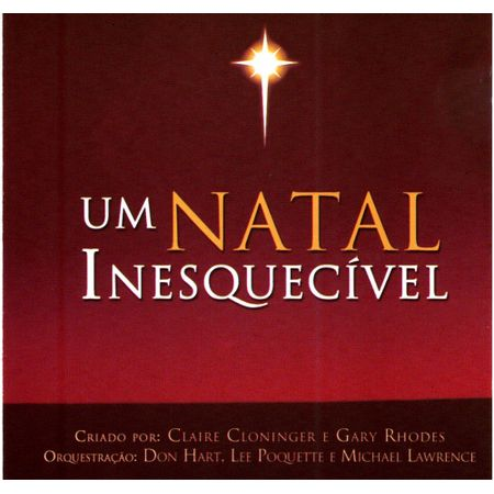 CD-Natal-Inesquecivel-