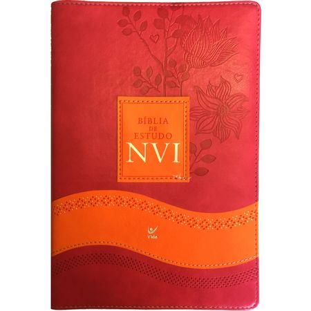 Biblia-de-Estudo-NVI-Rosa-e-Laranja