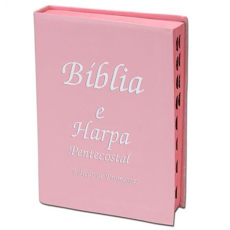 Biblia-Sagrada-Edicao-de-Promessas-e-Harpa-pequena-rosa