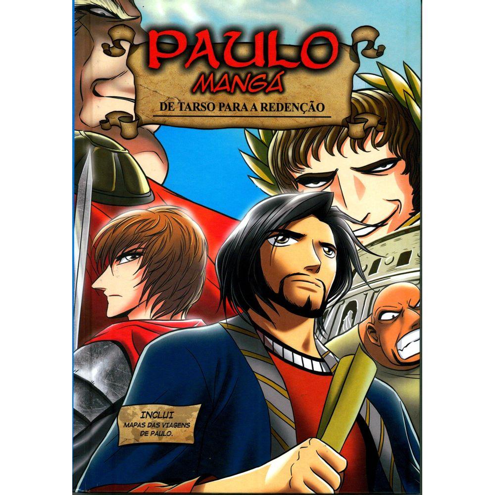 A história de Paulo, em mangá