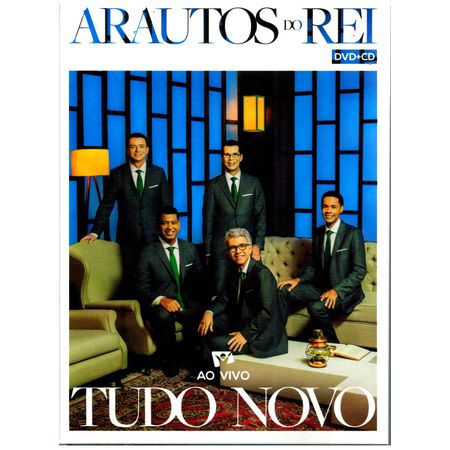 CD-DVD-Arautos-do-Reis-Tudo-Novo