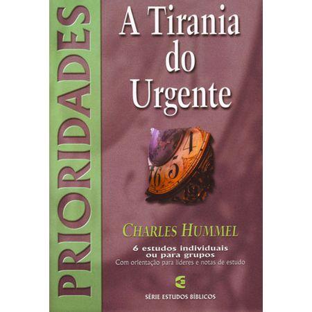 A-Tirania-do-urgente-serie-estudos-biblicos