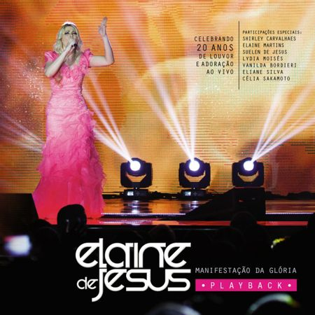 CD-Elaine-de-Jesus-Manifestacao-da-Gloria--PlayBack-
