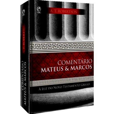 Comentario-Mateus---Marcos