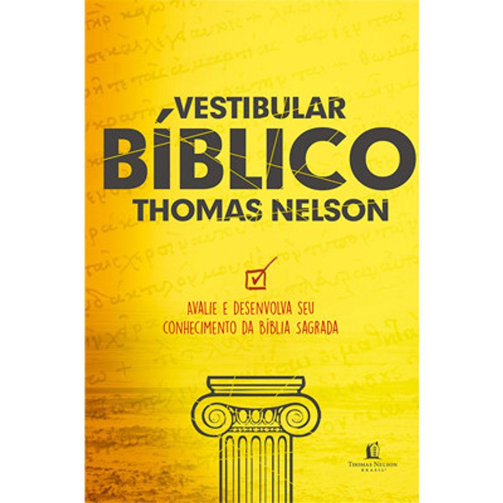 Vestibular B U00edblico  Thomas Nelson