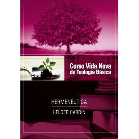 Curso-Vida-Nova-de-Teologia-Basica---Hermeneutica-Volume-13