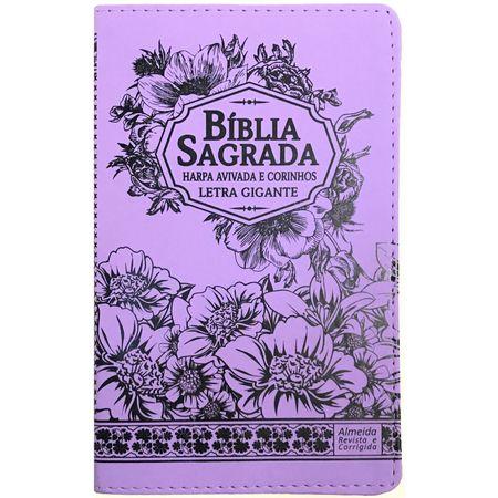 Biblia-com-Harpa-Avivada-e-Corinhos-Letra-Gigante-Lilas