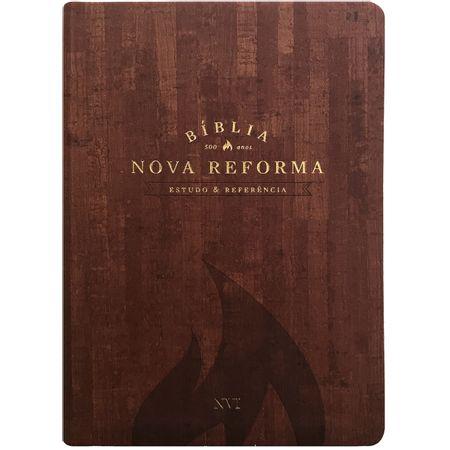 Biblia-Nova-Reforma-Estudo-e-Referencia-NVI-Marrom-Texturizado