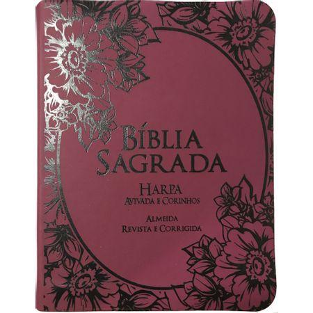 Biblia-RC-Harpa-Avivada-e-Corinhos-Letra-Grande-CPP-Uva