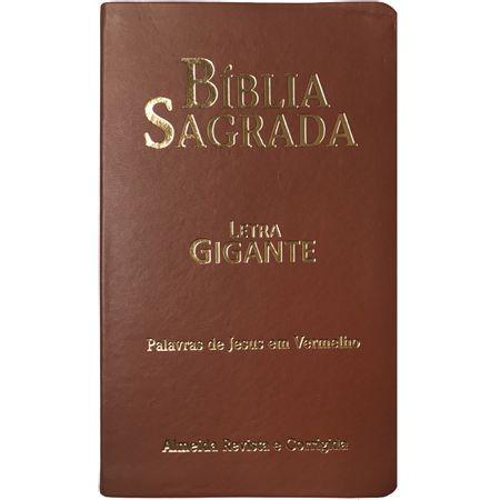 Biblia-Sagrada-Letra-Gigante-com-letras-vermelhas-Marrom