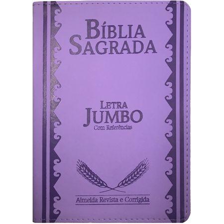 Biblia-Sagrada-Letra-Jumbo-Lilas