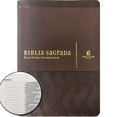 Biblia-NVI-Com-Espaco-Para-Anotacoes-Luxo-Marrom