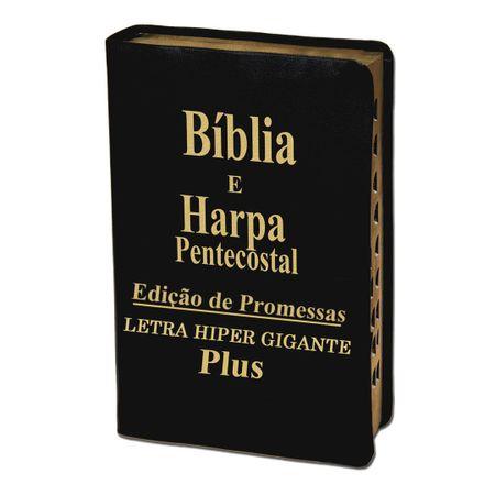 Biblia-e-Harpa-Pentecostal-Letra-HiperGigante-Plus-Preta-Luxo