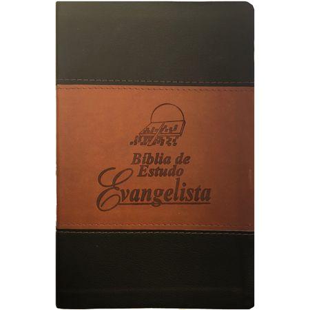 Biblia-de-Estudo-do-Evangelista-RC-Marrom-e-Preta