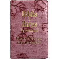 Biblia-e-Harpa-Pentecostal-Letra-HiperGigante-Folhas-Rosa