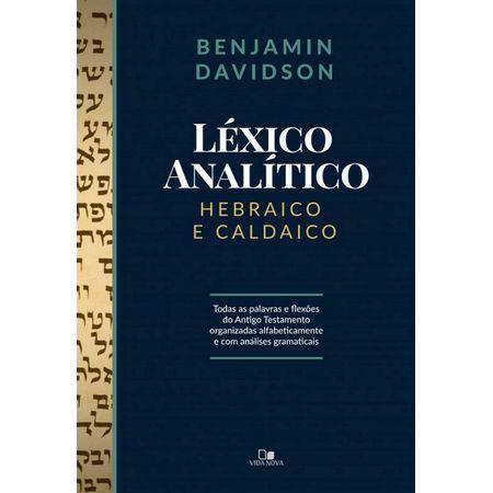 Lexico-Analitico-Hebraico-e-Caldaico
