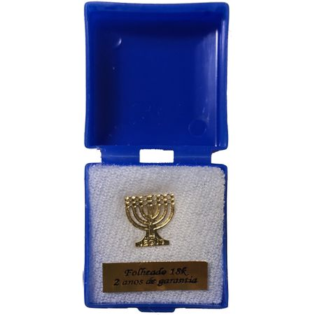 Broche-Menorah